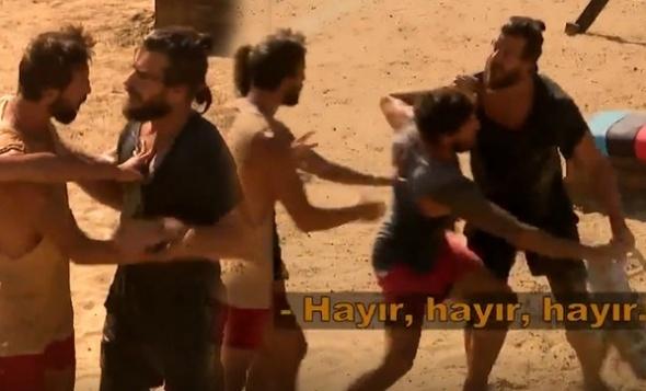 Hakan Hatipoğlu eline ne geçtiyse fırlattı! Mustafa, Adem ve Hakan kavgası