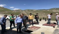 Başkan Vekili Epcim, su dağıtım depolarını denetledi