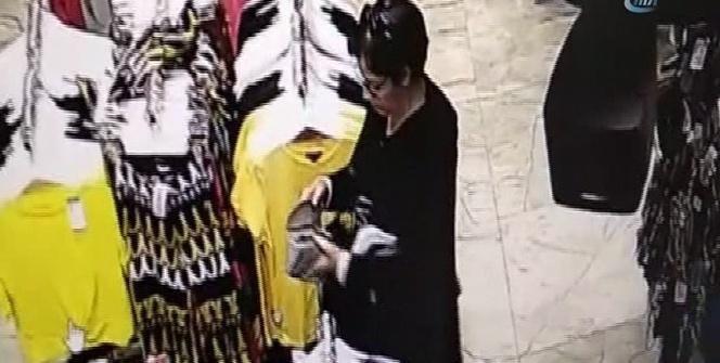 Cüzdan hırsızı kadın kıskıvrak yakalandı