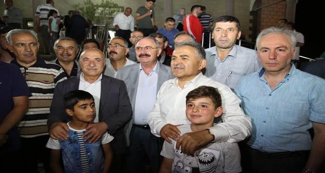 Başkan Büyükkılıç, Germir Halkı ile buluştu