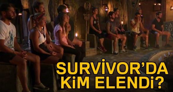 Survivor kim elendi? Survivor kim gitti? Survivor elenen kim?