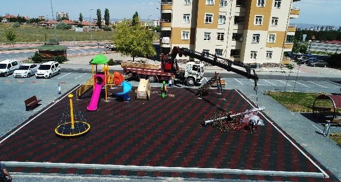 Talas'ta Çocuklara Yeni Oyun Alanları