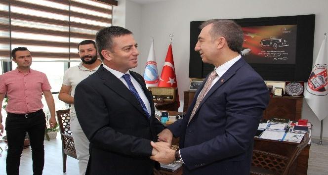 Başkan Aydın'dan OTONOMİ'ye ziyaret
