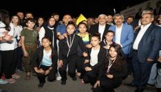 Başkan Kara Kilisli milli sporcular ile bir araya geldi
