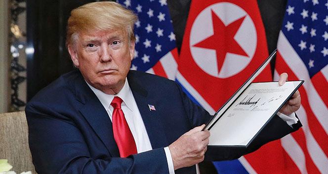ABD Başkanı Trump, 'Kuzey Kore'ye yaptırımlar devam edecek'