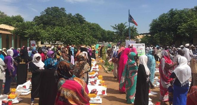Güney Sudan'da iftar programları ve gıda dağıtımı