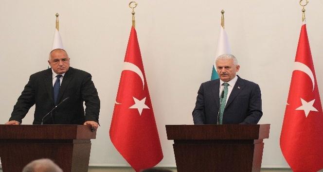 Başbakan Yıldırım ile Bulgaristan Başbakanı Borisov'dan ortak açıklama