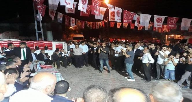 MHP İl Başkanı Avşar'ın seçim gezileri