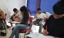 Üniversite burs ve yerleştirme sınavlarına yoğun ilgi devam ediyor