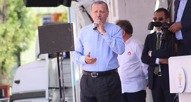 Cumhurbaşkanı Erdoğan: Biz aldatan olmadık, biz icraatçıyız