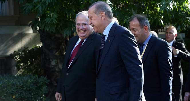 Yunan Dışişleri Bakanı Kotzias'dan 'Erdoğan' itirafı