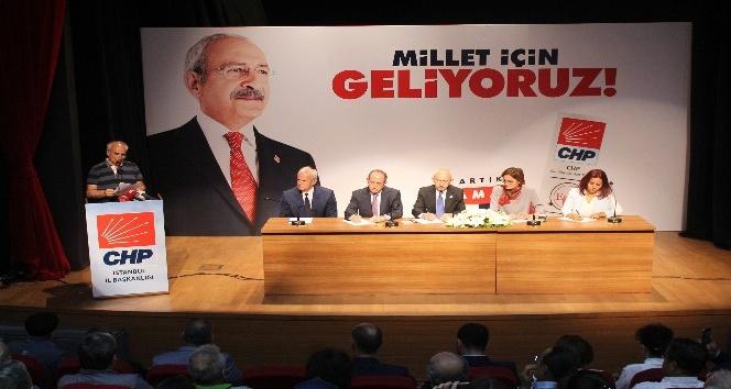 CHP Genel Başkanı Kılıçdaroğlu kentsel dönüşüm mağdurlarıyla buluştu