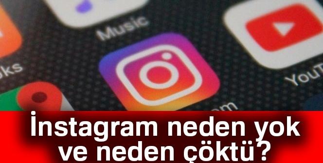 İnstagram neden yok neden çöktü? Instagram neden girilmiyor?