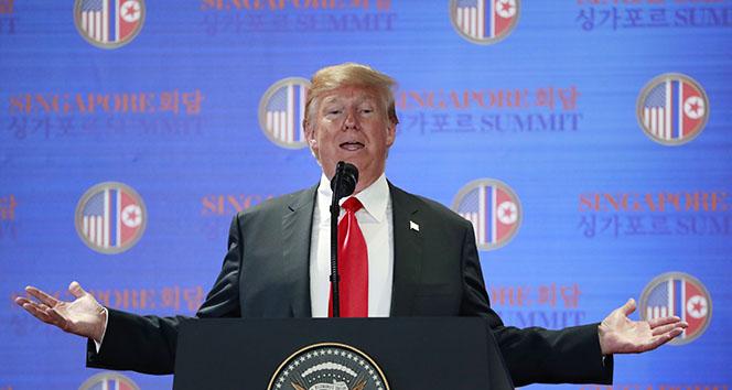 Trump: 'Tarihin defalarca gösterdiği gibi düşmanlar bir gün dost olabilir'