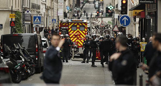 Paristeki rehine krizi sona erdi