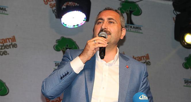 Adalet Bakanı Gül: AK Partinin alternatifi yok