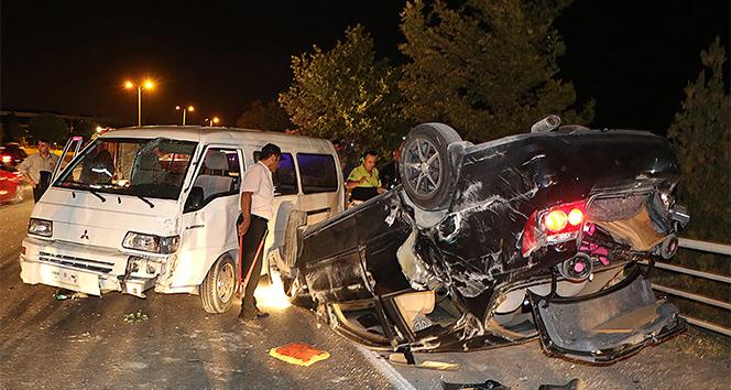 Karabük'te trafik kazası: 3 yaralı