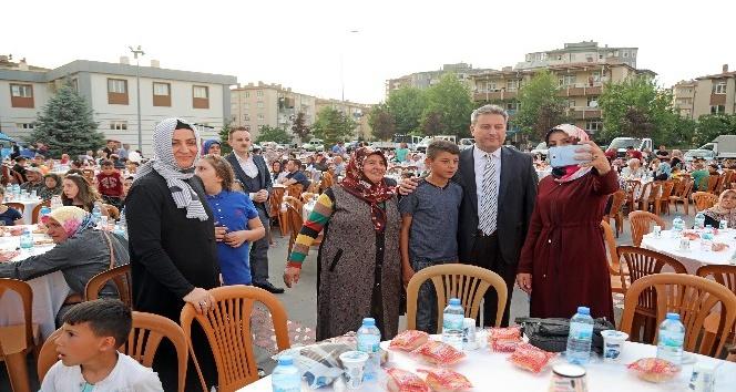 Talas'ta geleneksel personel iftarı