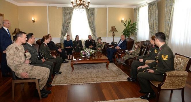 Jandarma Teşkilatından Vali Azizoğlu'na ziyaret