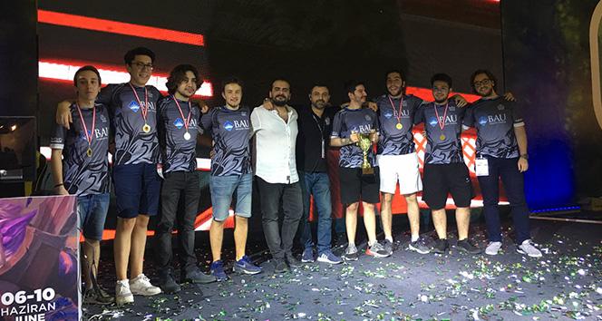 BAU Espor Türkiye Şampiyonu Oldu