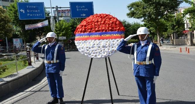 Siirtte Jandarmanın 179uncu kuruluş yıldönümü kutlaması