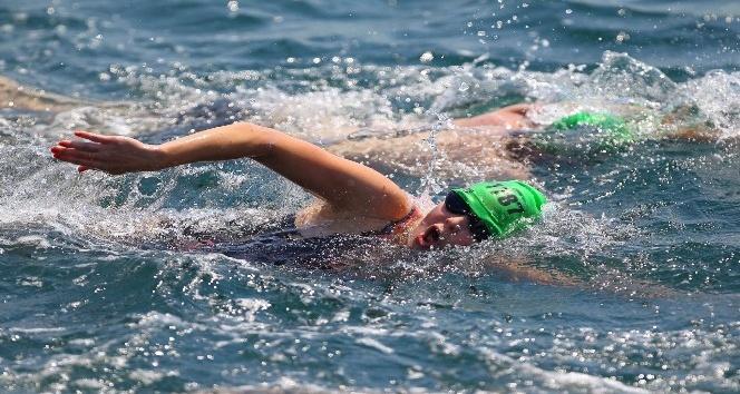 Kıtalararası Yüzme Yarışı heyecanı Trabzon'da