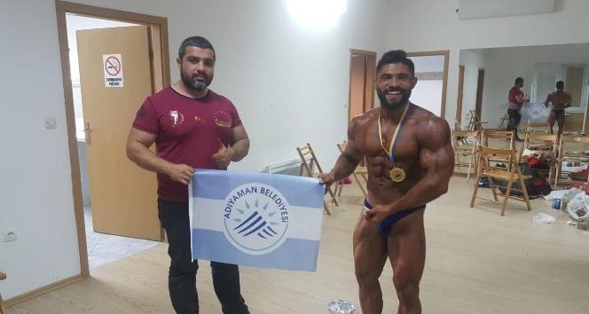 Adıyaman Belediyesporlu Halil Bakırcı Avrupa şampiyonu oldu