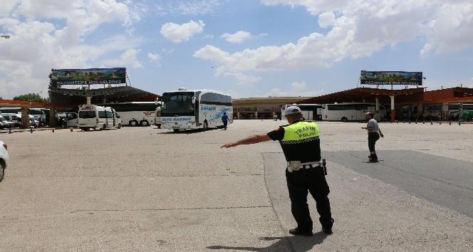 Bayram seferine çıkan otobüs şoförlerine polis tembihi