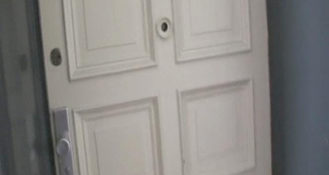 Adil Öksüzün yaşadığı iddia edilen evi İHA görüntüledi