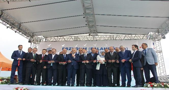 TCDD Erzurum Palandöken Lojistik Merkezi açıldı