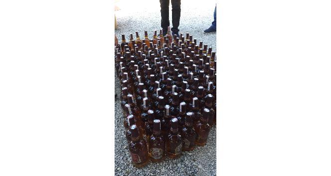 Fethiye'de sahte içki operasyonu