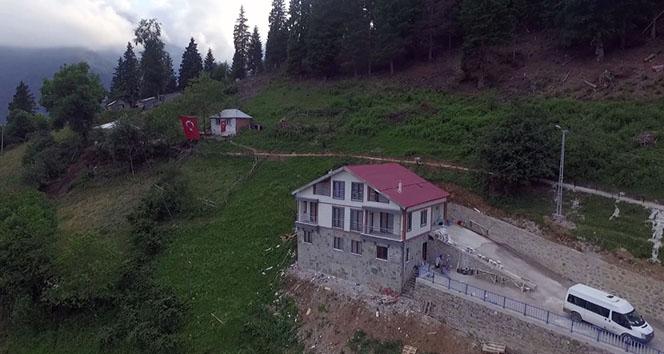 İşte şehit Eren Bülbülün ailesine hediye edilen ev