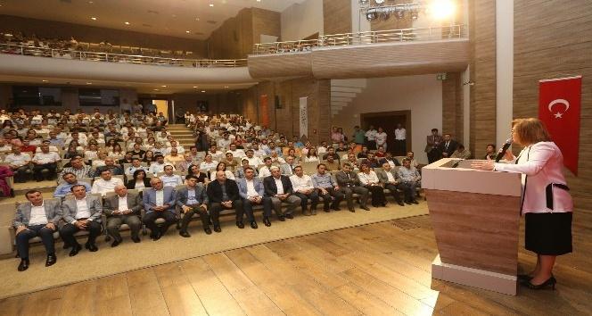 Şahin Belediye personelleriyle bayramlaştı