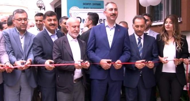 Adalet Bakanı Gül rehabilitasyon merkezi açılışına katıldı