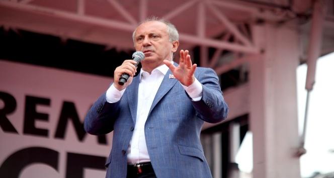 CHP'nin Cumhurbaşkanı adayı İnce Giresun'da
