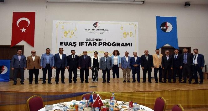 EÜAŞ'tan geleneksel iftar programı
