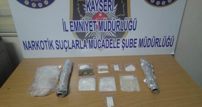 Kayseri polisi uyuşturucuya geçit vermiyor