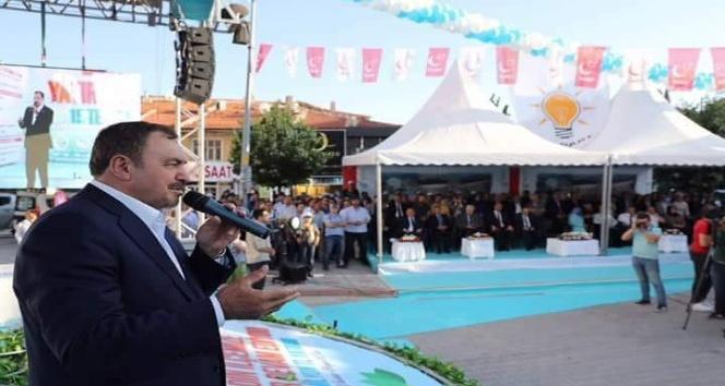 Bakan Eroğlu, Bolvadin ve Çay ilçelerinde 20 adet tesisin temelini attı