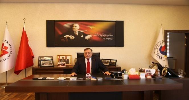 NTSO Başkanı Parmaksız, Ramazan Bayramını kutladı