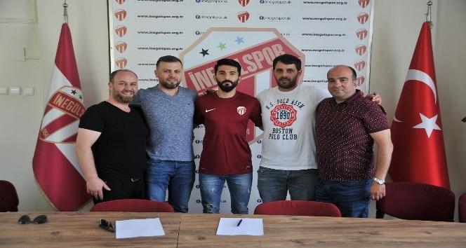 Kırklarelispor'dan Osman Torun İnegölspor'da