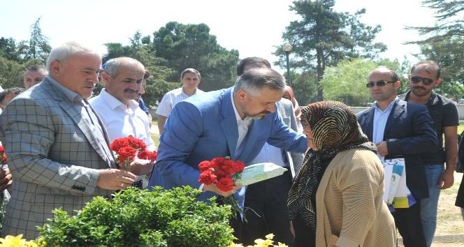 Bafra'da şehitler dualarla anıldı