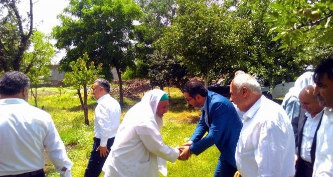 Gezer, Karacadağ'a bağlı 7 köyü ziyaret etti