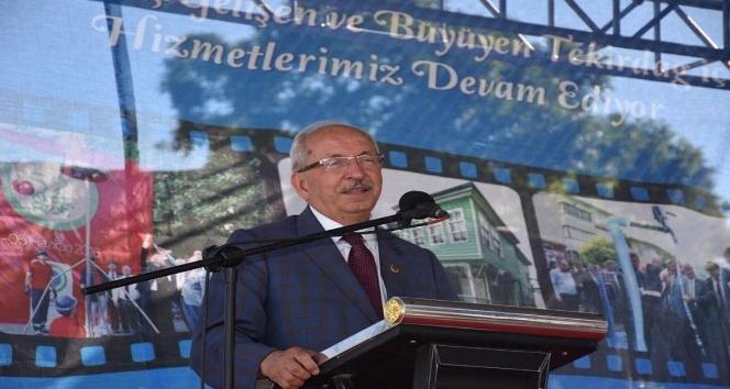 Süleymanpaşa ilçesinde Üst Geçit Projesi hizmete açıldı