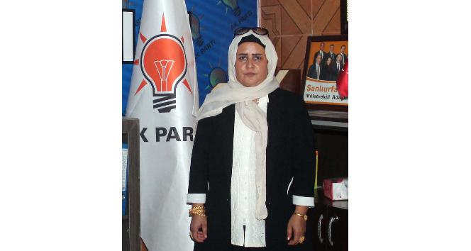 AK Parti Harran ilçe Kadın Kolları Başkanı Biter: