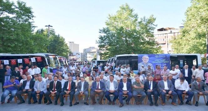27 yeni otobüs Tekirdağlıların hizmetine sunuldu