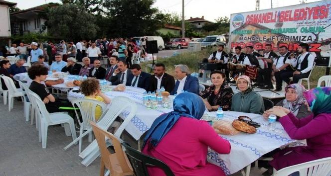 Osmaneli'de mahalle iftarları sona erdi