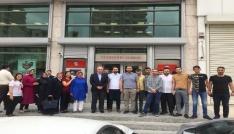 AK Partili gençlerden Cumhurbaşkanı Erdoğana destek
