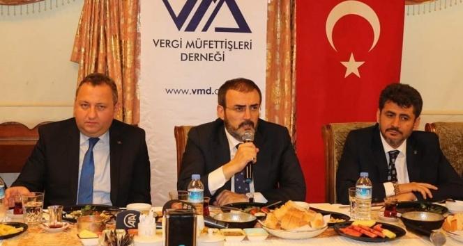 AK Parti Sözcüsü Ünal, VDK hakkında komisyona bilgi verecek