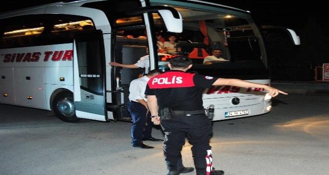 Huzur Arife uygulamasında, aranan 7 kişi yakalandı