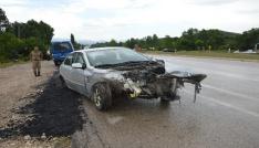 Tokatta trafik kazası: 8 yaralı